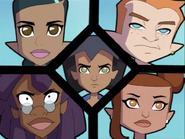 The Rifflers as of Season 2