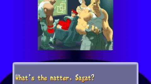 Street Fighter Alpha 2 - Sagat Ending