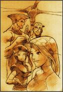 MVC2 Ending-Psylocke-Guile-Jill-Cap