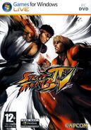 Street Fighter IV (PC - cubierta Europa)