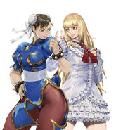 SFxTekken-Chun-Li and Lili