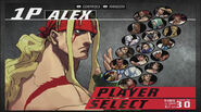 SFIII 3rd Strike Online Edition character select