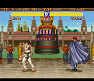 SF2 SNES Bison Stage