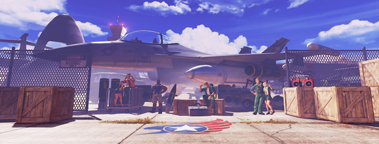 Air Force Base Street Fighter Wiki Fandom