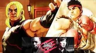 Street Fighter 5 Daigo Umehara vs. Lupe Fiasco - SFV Launch Event, Twitch 2016 (1080p HD)