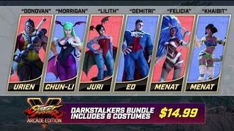 Street Fighter V Arcade Edition - Darkstalkers Bundle