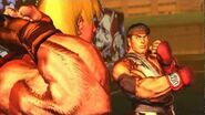 Street Fighter X Tekken - Ryu & Ken's Rival Cutscene English Ver