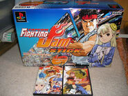 Capcom Fighting Jam Stick full box