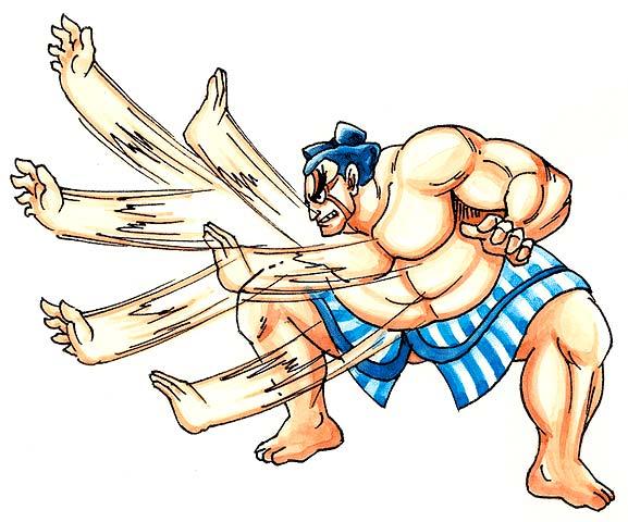 Hundred Hand Slap | Street Fighter Wiki | FANDOM powered by Wikia