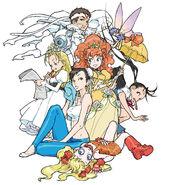 Capcom figure collection