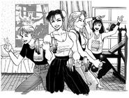 SFII Lucia Chun-Li Maki and Rena