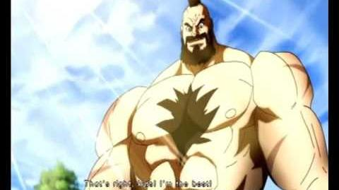 Street Fighter IV - Zangief Prologue Ending Movies