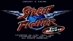Street Fighter The Movie (Arcade Game Intro)
