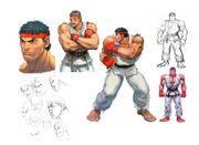 SFIV-Ryu Concept Art