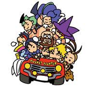 Pocket Fighter cast-2