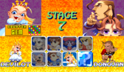 Super Puzzle Fighter II Turbo character select screen