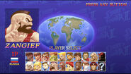 Ultra Street Fighter II The Final Challengers character select