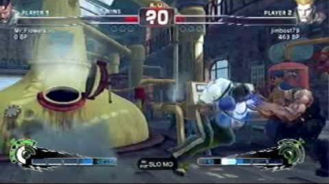 Dudley's Cross Counter Beats Ultra!
