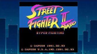 Street Fighter II Turbo Attract Mode