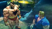 Street Fighter IV - Zangief's Rival Cutscene English Ver