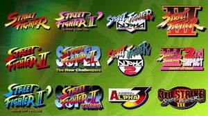 Street Fighter 30th Anniversary Collection - Tráiler anuncio.