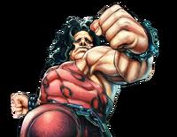 Character select Hugo USFIV