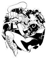 Akiman-Chun-Li vs M.Bison