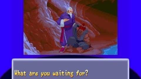 Street Fighter Alpha 2 - Gen Ending