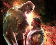 SFIV iPhone-Ryu vs Sagat
