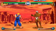 Street Fighter III 2nd Impact - Ken versus Urien