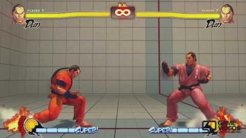 (FUNNY) Street Fighter 4 'Dan's Super Taunt' clip HD (SUPER FUNNY)
