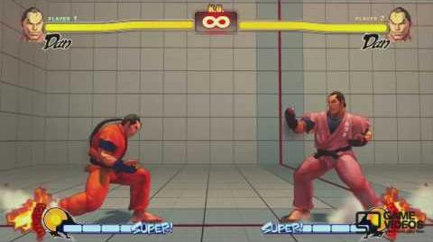 (FUNNY) Street Fighter 4 'Dan's Super Taunt' clip HD (SUPER FUNNY)