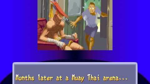Street Fighter Alpha 2 Adon Ending