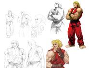 SFIV-Ken Concept Art