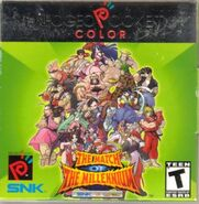 SNK vs Capcom -- The Match of the Millennium (cubierta eeuu)