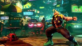 Street Fighter V M. Bison Reveal Trailer