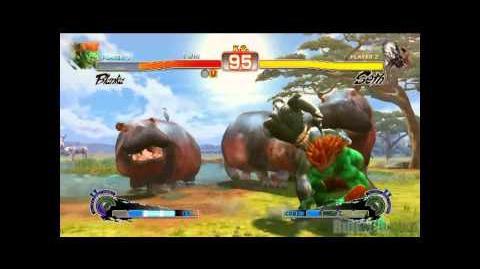 Seth's Lightning Kick combo