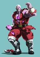 SFV M. Bison Story Costume Artwork
