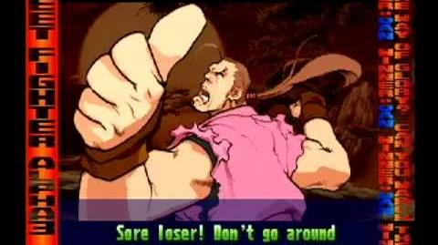 Street Fighter Alpha 3 Dan Full Storyline and Ending (improved quality)