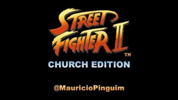 Street Fighter Church Edition (All 12 warriors)