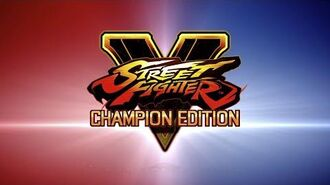 Street Fighter V Champion Edition Launch Trailer