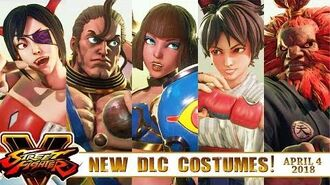 "Take a Look at ""NEW DLCs"" of SFV AE - DARKSTALKERS & CPT 2018!"