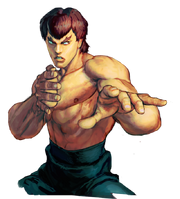 Character select Fei Long SSFIV
