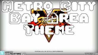 STREET FIGHTER V Metro City Bay Area (long version)