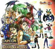 Capcom Gals Collection - complete set