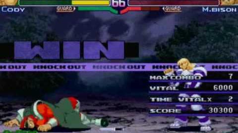 Street Fighter Alpha 3 - Cody Playthrough Part 3 3