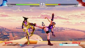 SFV Skies of Honor Cammy vs Juri
