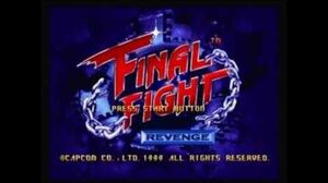 Final Fight Revenge - Opening
