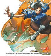 Capcom fighting jam conceptart XQDKe