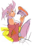 Rose-cap-artwork-Street Fighter Alpha Warriors' Dreams